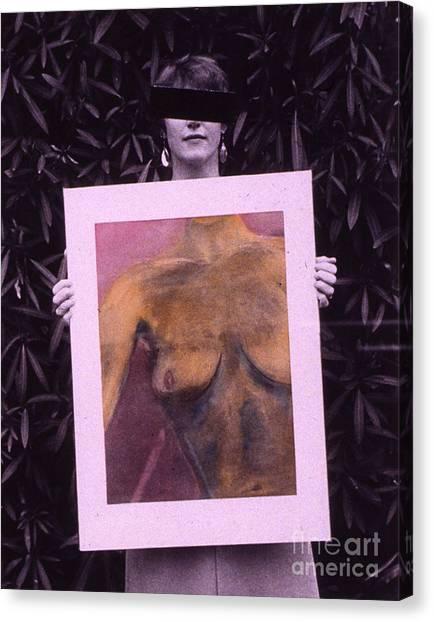 Censored Artist Canvas Print