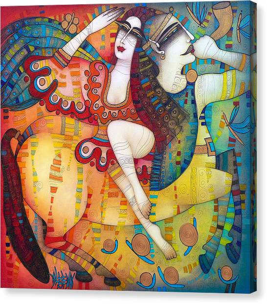 Centaurs Canvas Print - Centaur In Love by Albena Vatcheva