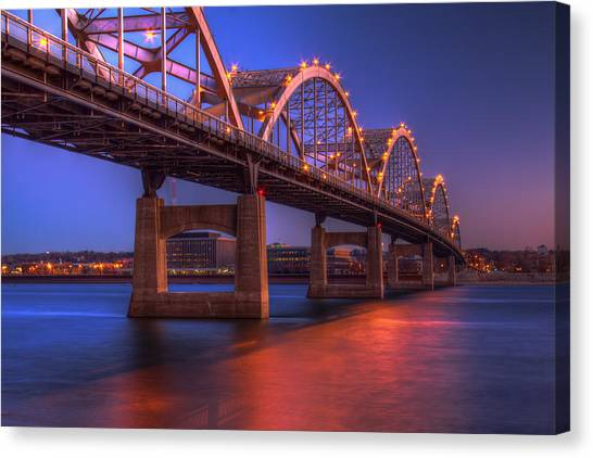 Mississippi River Canvas Print - Centennial Reflections by Tom Weisbrook
