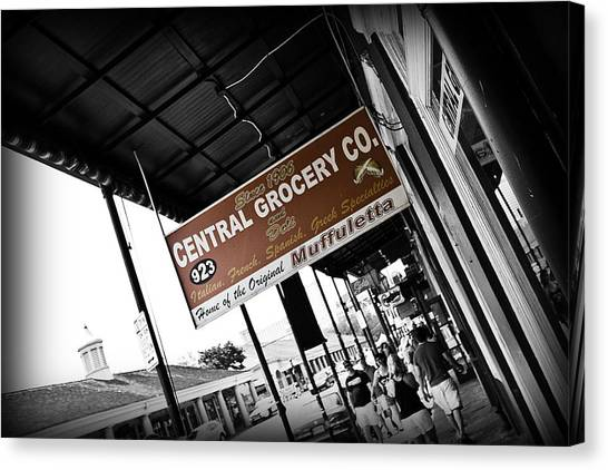 Central Grocery Canvas Print