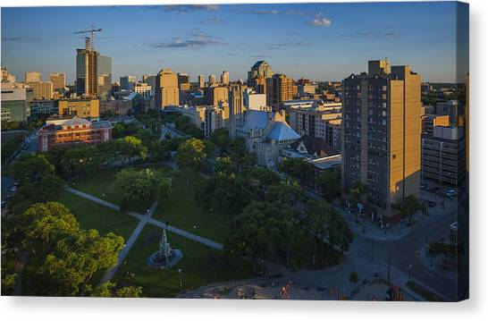 Manitoba Canvas Print - Central Park by Bryan Scott