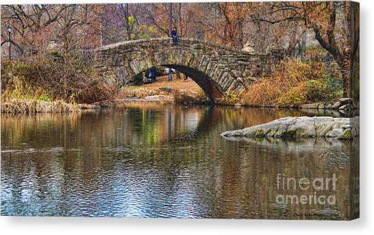 Central Park II Canvas Print