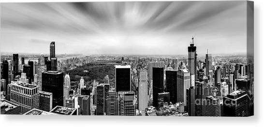 Central America Canvas Print - Central Park Perspective by Az Jackson