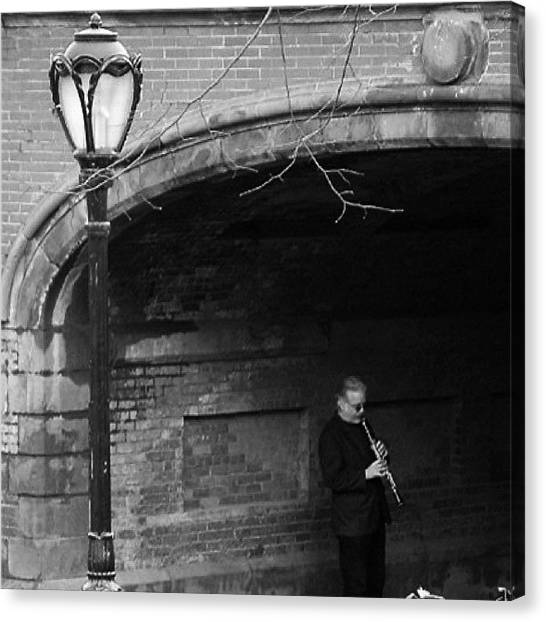 Flutes Canvas Print - Central Park #photography #music by Morgan Brunner