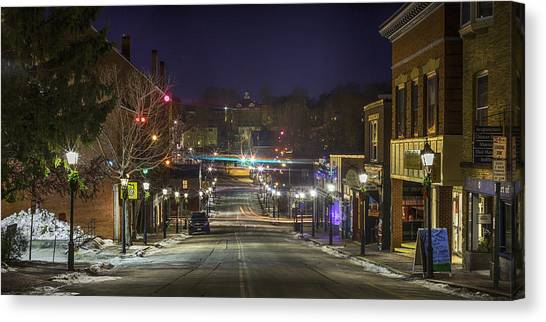Centre Street Canvas Print