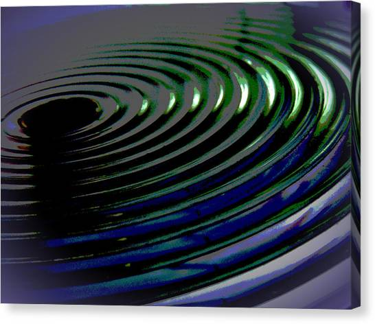 Centrifugal Abstract Canvas Print