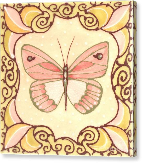 Ceramic Butterfly 2 Canvas Print