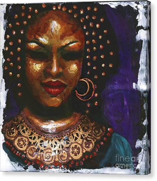 Ceremonial Dress Canvas Print by Alga Washington