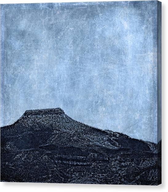 Geology Canvas Print - Cerro Pedernal by Carol Leigh