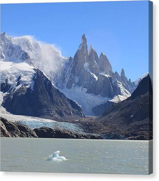 Glaciers Canvas Print - Cerro Torre, El Chalten, Patagonia by Jeff Miles