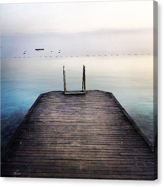Turkish Canvas Print - Cesme-sea by Ayca Buyukcinar