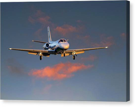 Cessna Citation Canvas Print