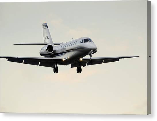 Cessna Citation Sovereign  Canvas Print