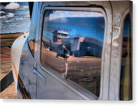 Cessnas Canvas Print - Cessna Reflections  by Paul Job
