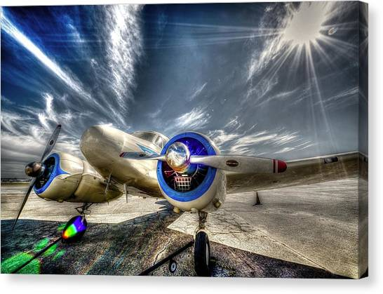 Cessnas Canvas Print - Cessna T-50 by David Morefield
