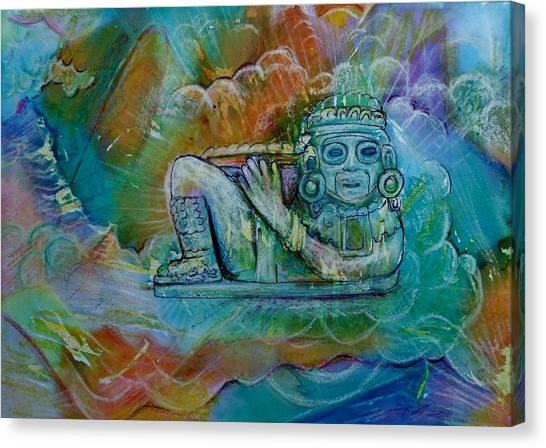 Chacmool De Templo Mayor Canvas Print