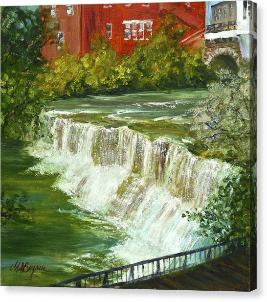 Chagrin Falls Canvas Print