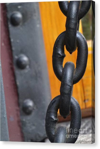 Chain And Rivets Canvas Print