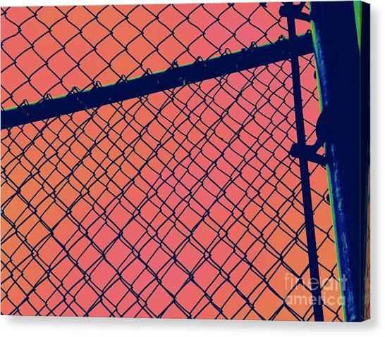 Chain Link Canvas Print by A K Dayton