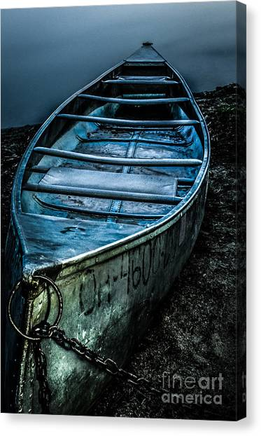 Chained At The Waters Edge Canvas Print