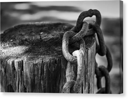 Chained... Canvas Print