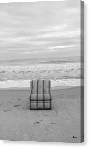 Chair Canvas Print by Thomas Leon