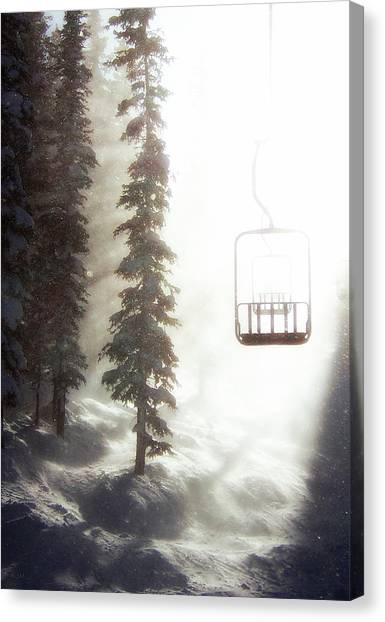 Rocky Mountain Canvas Print - Chairway To Heaven by Kevin Munro