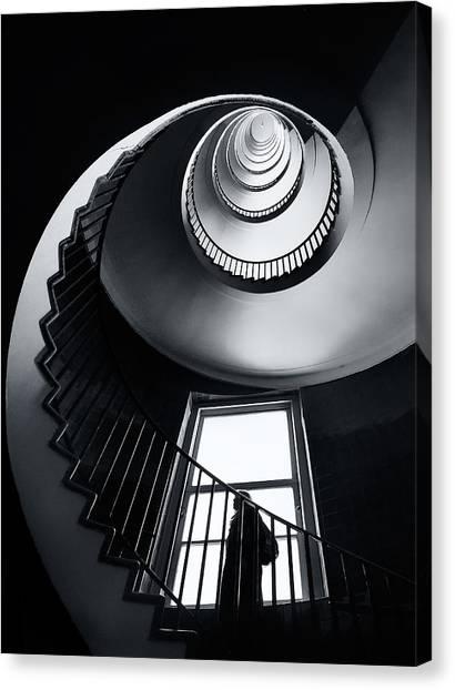 Spiral Canvas Print - Challenge by Izidor Gasperlin