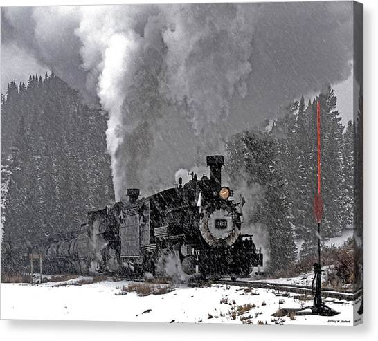 Chama Pass 01 Canvas Print