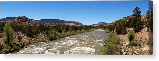 Rio Grande River Canvas Print - Chama River A Major Tributary River by Panoramic Images
