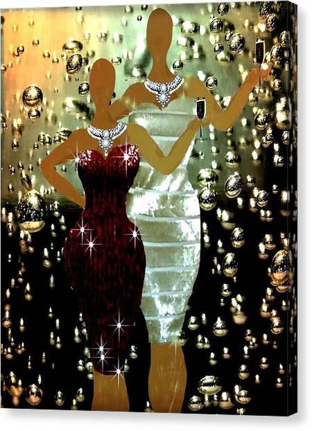 Champagnelyfe Canvas Print