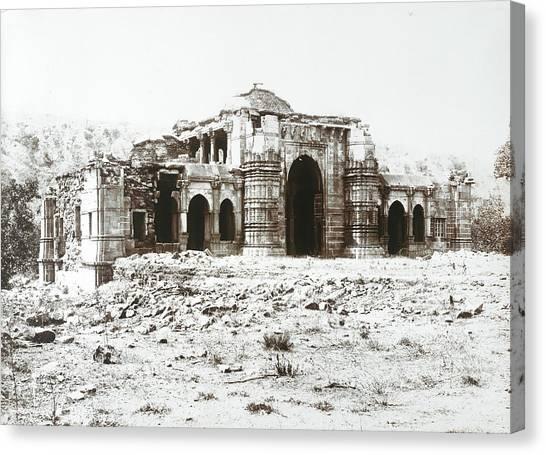 Islam Canvas Print - Champaner by British Library