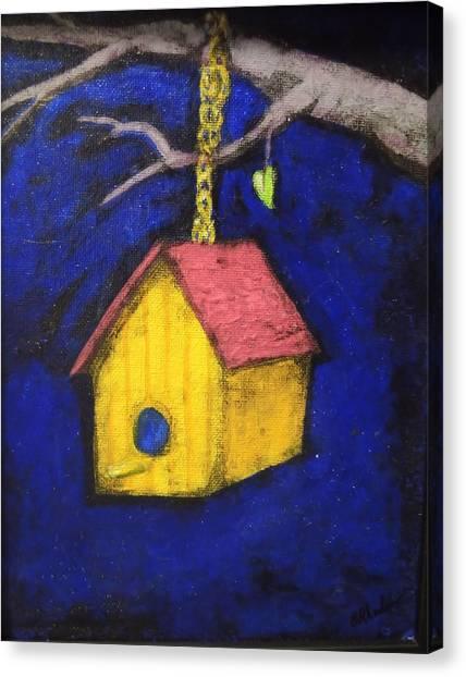 Change Of Season Canvas Print by Barbara  Rhodes