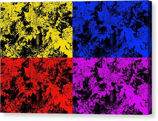 Splashy Art Canvas Print - Changing Seasons by Aimee L Maher Photography and Art Visit ALMGallerydotcom
