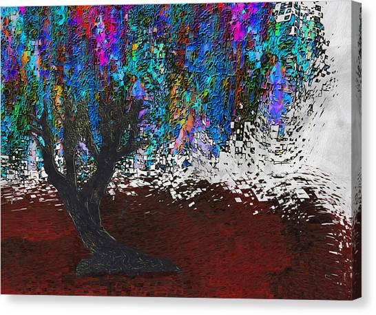 Installation Art Canvas Print - Changing Tree by Jack Zulli