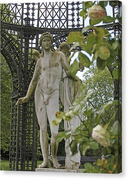 Male Nudes Canvas Print - Chantilly France by Laura OConnell