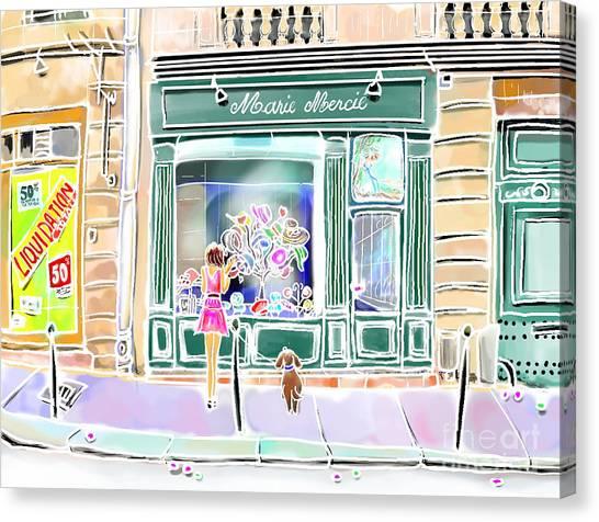 Chapeauterie Canvas Print