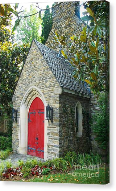 Chapel In Gatlinburg Canvas Print