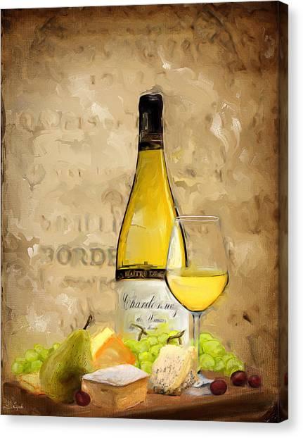 Steak Canvas Print - Chardonnay Iv by Lourry Legarde