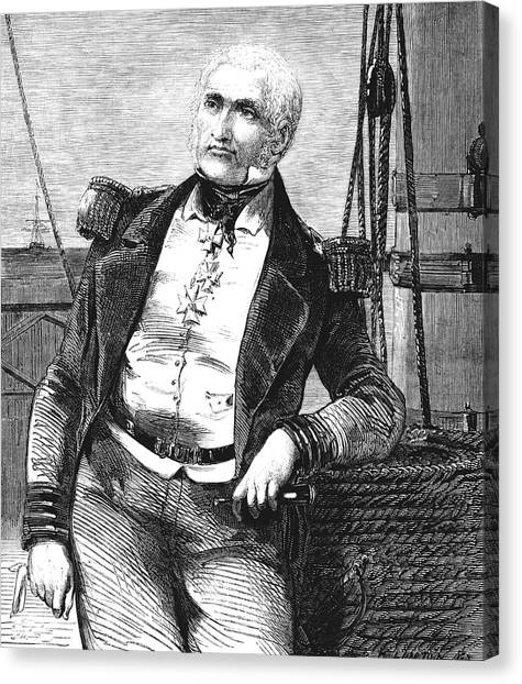 Charles Napier Canvas Print by Collection Abecasis