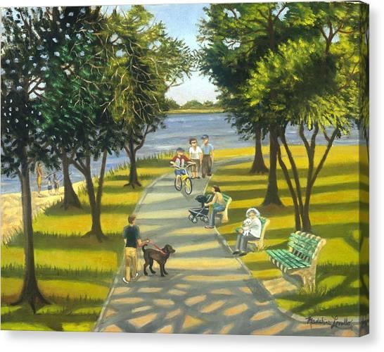 Charles Park Canvas Print