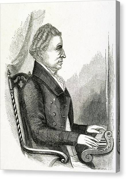 Harpsichords Canvas Print - Charles Wesley by British Library