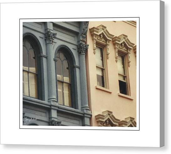 Charleston Architecture 1 Canvas Print