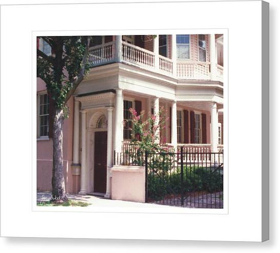 Charleston Architecture 4 Canvas Print