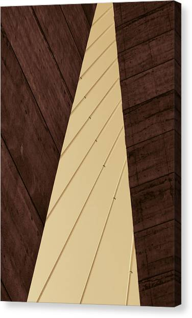 Charleston Bridge Abstract Canvas Print
