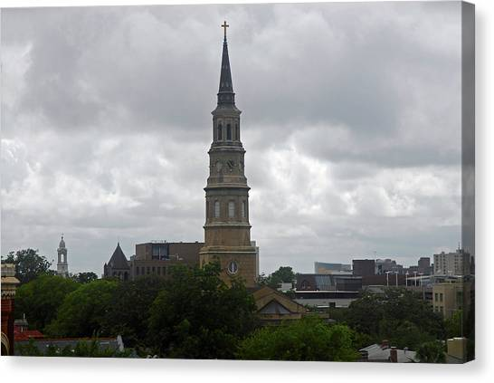 Charleston Church Canvas Print