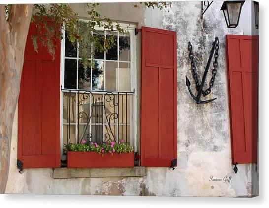 Charleston French Quarter II Canvas Print