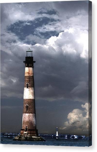 Charleston Lights Canvas Print