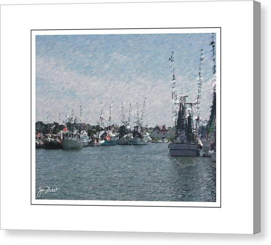 Charleston Shrimp Boats Canvas Print