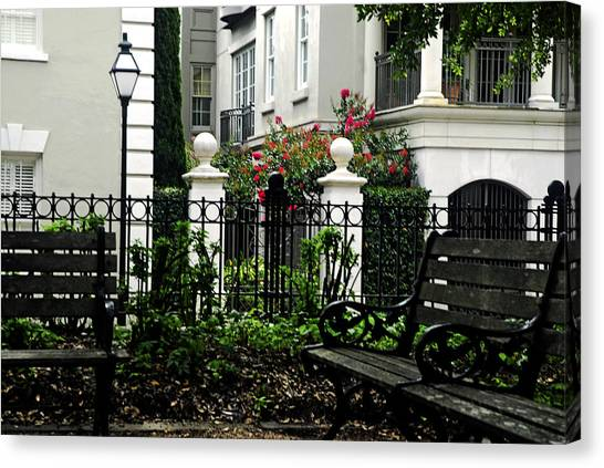 Charleston Spot Canvas Print
